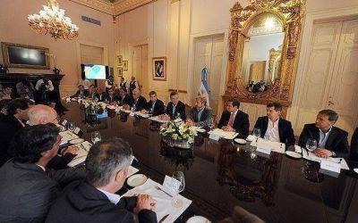 Macri recibió a intendentes de capitales provinciales