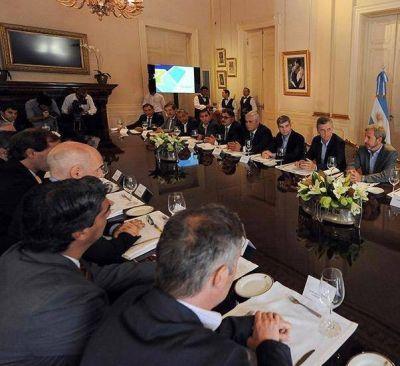 Paredes Urquiza presentó a Macri un plan de obras para Capital