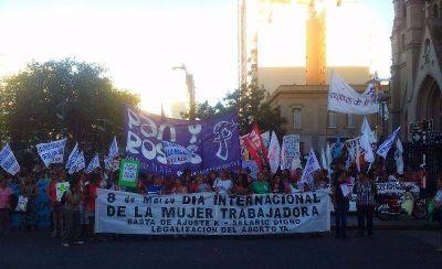 """Las mujeres marcharán contra """"la violencia y la precarización laboral"""""""