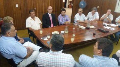 EMPRESARIOS EXPUSIERON PROBLEMÁTICAS Y SUGERENCIAS AL MINISTRO DE SEGURIDAD