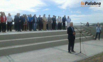Zara presidió el acto en conmemoración de la Gesta del 7 de Marzo