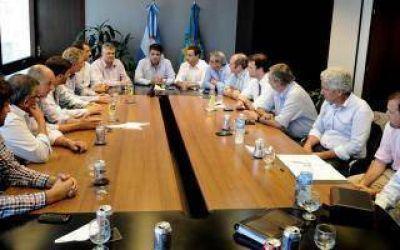 Jorge Macri recibió a intendentes de Cambiemos