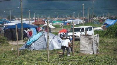 Constatan el desalojo voluntario de los lotes en Parque La Vega