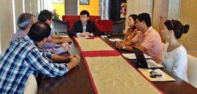 El ministro se reuni� con el intendente de San Pablo