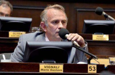 Vignali volvió a la carga por proyectos pendientes de tratamiento