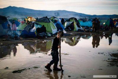 Decenas de miles de refugiados quedaron encerrados en Grecia