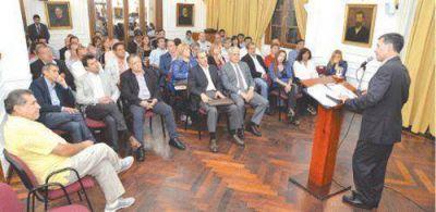 Casas reiteró que apostará por la gobernabilidad en la Nación