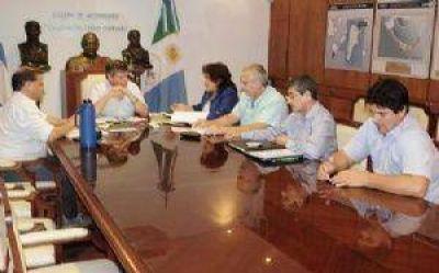 Peppo ratificó a CGT su compromiso de sostener el empleo y hacerlo crecer