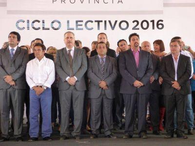 Passalacqua destacó que la educación sigue arriba en la agenda de Gobierno