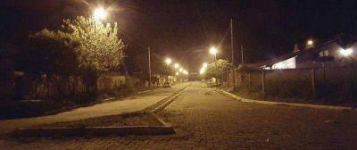 Contin�a los trabajos de renovaci�n en la iluminaci�n de calles de San Pedro