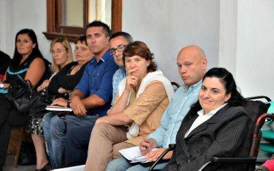 Se realizó la primera reunión de la Mesa de Trabajo de la Dirección de Discapacidad