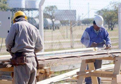 Construcción: Santa Fe mantiene el empleo, mientras en el país baja