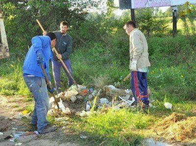 Continúan limpiando basurales que se generan en distintos puntos de la ciudad