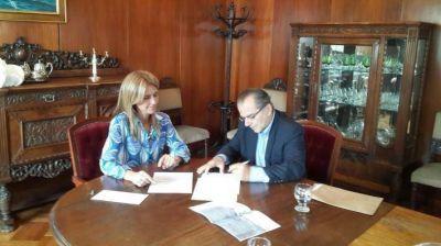 Cipolini gestionó la donación de más bienes para el museo ferroviario de Sáenz Peña