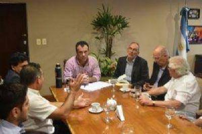 El vicegobernador se reuni� con empresarios israel�es para futuras inversiones en Chaco