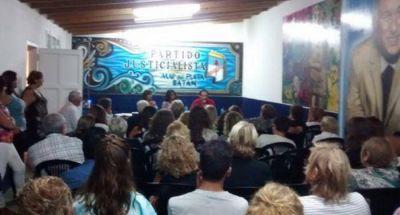 Plenario por el Día de la Mujer en el Partido Justicialista de Mar del Plata