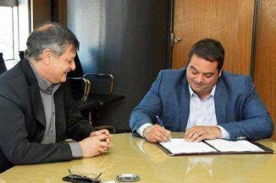 Peppo acordó con Triaca programas para el fortalecimiento del empleo privado