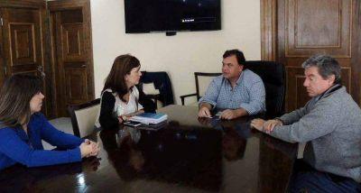 Comercio aunó criterios con autoridades de El Calafate