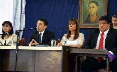 Ferreyra habl� de la pesada herencia del FCS en la comuna