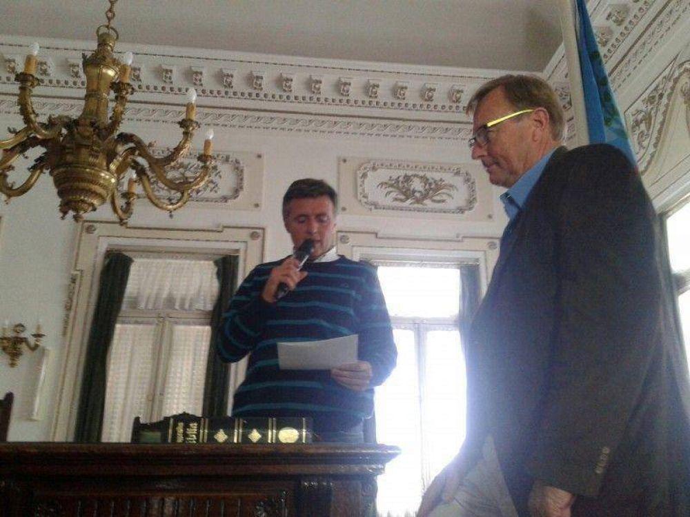 Groenenberg reemplaza a Aprile y aceptaron renuncia de Martín Garate al Concejo