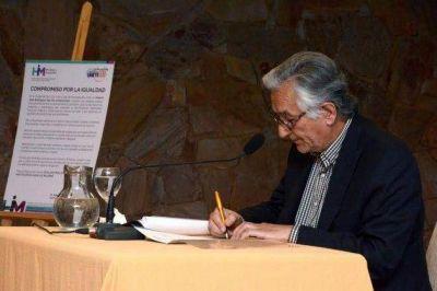 Alberto Rodríguez Saá integra la Red de Hombres por la igualdad