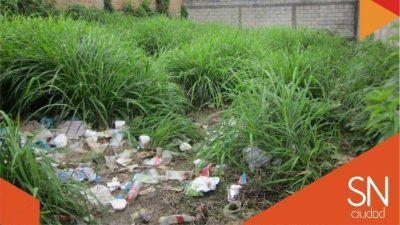 El Municipio exige la limpieza de baldios