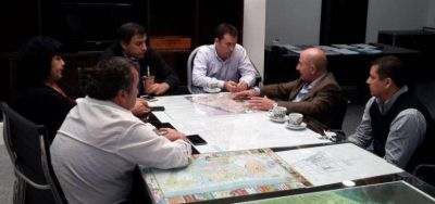 José Llugdar realizo encuentro formal con el intendente Facundo Prades