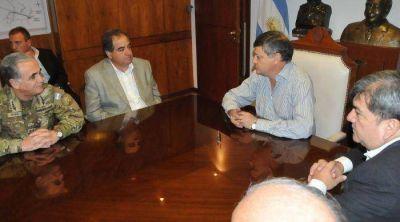 Nación y Provincia articularon acciones para encarar la lucha contra el narcotráfico