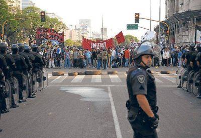 Lanzan el primer piquetazo contra el gobierno de Macri