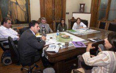 El Intendente recibió al delegado en Azul del Tribunal de Cuentas