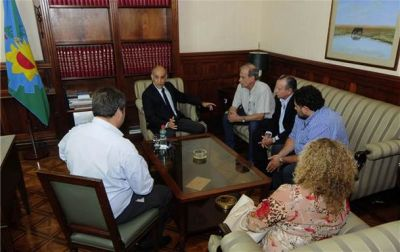 Ricardo Criado y concejales de Cambiemos se reunieron con el vicegobernador de la provincia de Buenos Aires