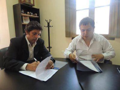 Ambiente firmó un acuerdo con Nóblega