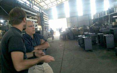 Funcionarios municipales visitaron el Parque Industrial