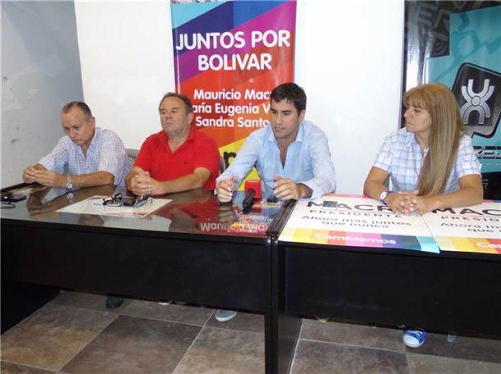 Sandra Santos, Ricardo Criado y Adalberto Sardiña acordaron trabajar en conjunto