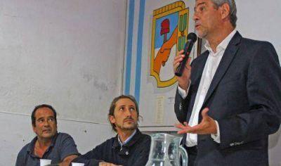 Ferraresi participa de la reapertura del PJ de San Pedro