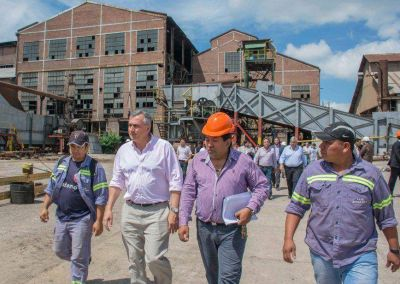 Morales garantizó la zafra 2016 en La Esperanza