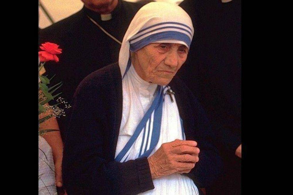 Madre Teresa será canonizada el 4 de septiembre