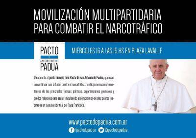 El Pacto de Padua convoca a una movilización para combatir el narcotráfico