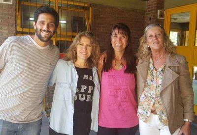 El sábado en Saladillo, Lordén visitó CETIDIM y participó del encuentro seccional de la JR