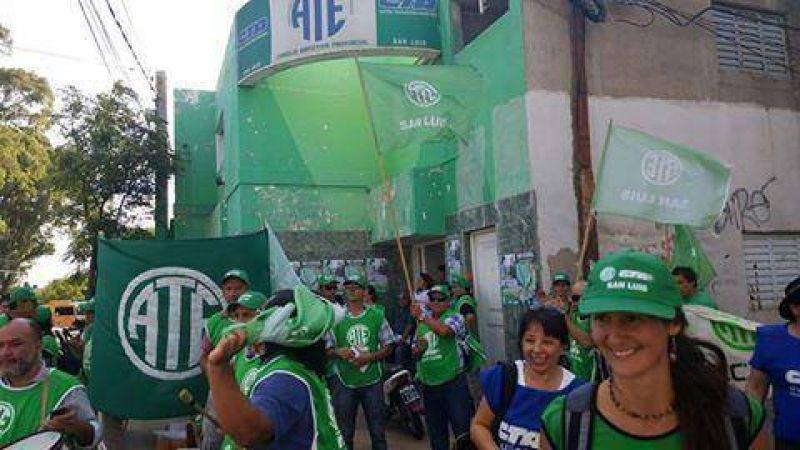 Paro de ATE afectará la atención en las delegaciones nacionales en San Luis