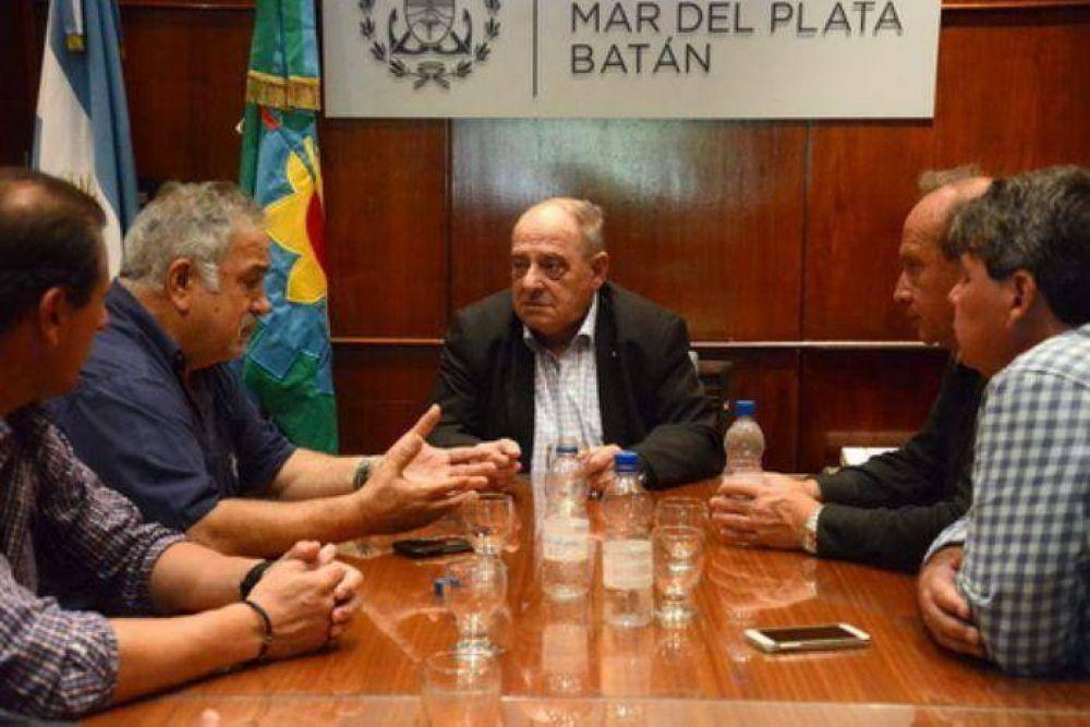 La UOCRA le brindó su respaldo a Arroyo ante la llegada de grandes inversiones