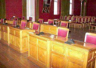Clausuraron el Salón Rojo del palacio municipal