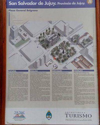 """La Plaza Belgrano y la """"auto-invisibilidad"""" de los jujeños, más de lo mismo"""