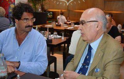 Encuentro de Gorosito con el Ministro de Agroindustria de la pcia.de Bs. As Ing. Leonardo Sarquis
