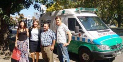 Cazón tendrá una nueva ambulancia