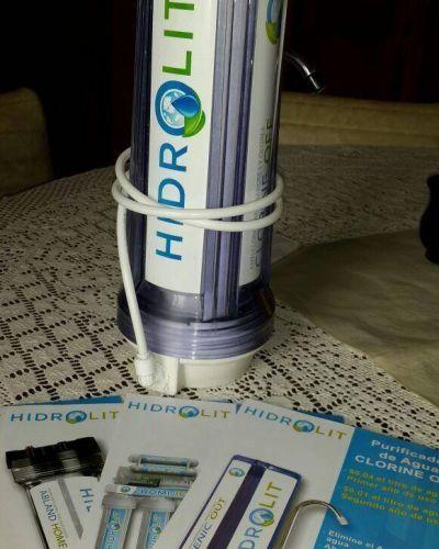 Los filtros de agua 'Hidrolit' llegaron a Bol�var