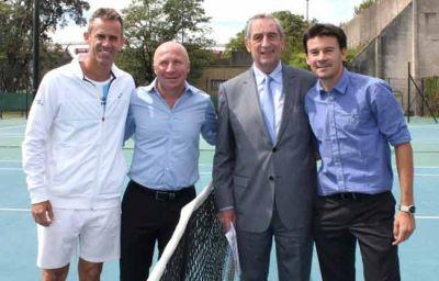 Mac Allister lanzó el programa 'Nuestro Tenis'