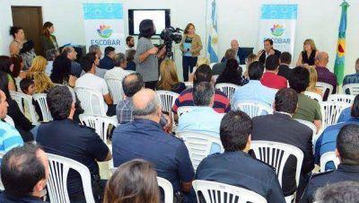 El Intendente presentó el Plan de Seguridad Ciudadana 2016 para Escobar