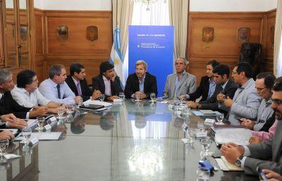 El ministro Ballay participó de una reunión con Frigerio para resolver la devolución de la coparticipación