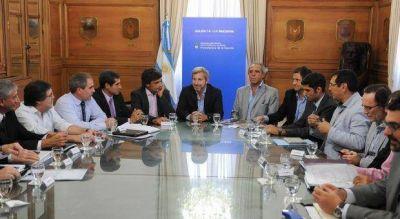 Coparticipación; Frigerio encabezó una cumbre de ministros para avanzar en el reparto
